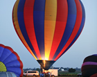The United States Hot Air Balloon Team 2 Gift Certificates for a one hour flight.