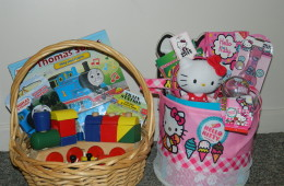 Variety of theme baskets will be sold Friday night and Saturday
