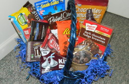 chocolate snack basket