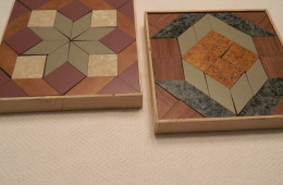 Formica Wooden Design Puzzles handmade by J. Clair Hollinger, Lititz