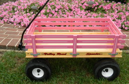 Valley Road Speeder wagon with rubber tires  Heavy duty